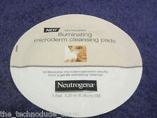 10 Neutrogena Illuminating Microdermabrasion Cleansing Pads+Bonus! Hard to Find.