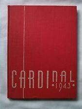 1943  WHITTIER HIGH SCHOOL YEARBOOK  WHITTIER, CALIFORNIA CARDINAL