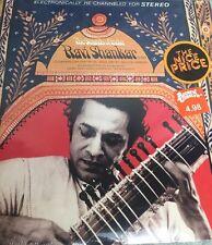RAVI SHANKAR The Sounds of India SITAR VINTAGE 1968 NEW SEALED MINT LP 33RPM