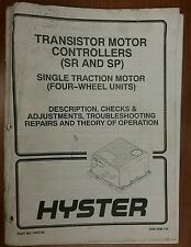 HYSTER 1463732 Transistor Motor Controllers SR and SP 1999