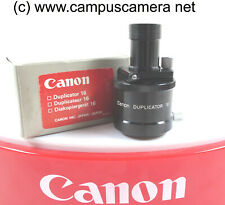 Canon Duplicator 16 attachment for Canon Macrophoto 35mm f2.8 16mm Copy Attach