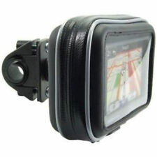 "Bike Motorcycle handlebar Mount Case Garmin Nuvi Drive TomTom Via Go 5"" GPS"