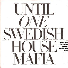 SWEDISH HOUSE MAFIA Until One UK 24-tk numbered/watermarked promo test CD sealed