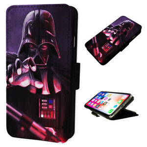 Darth Vader Grabbing - Flip Phone Case Wallet Cover - Fits Iphone & Samsung