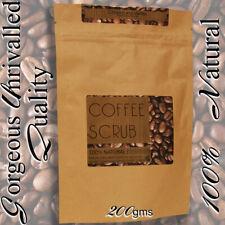 Coffee Body scrub 100% natural  Coconut &Apricot oil, moisturising exfoliating