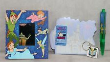 Disney Tinkerbell Tinker Bell Notepad Picture Frame Pen Key Chain