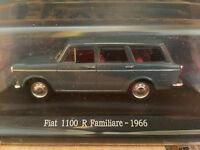 """DIE CAST """" FIAT 1100 R FAMILIARE - 1966 """" + TECA RIGIDA BOX 2 SCALA 1/43"""