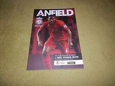 UEFA Europa League Group A - Liverpool v BSC Young Boys in 2012 at Anfield