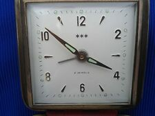 Vintage - Travel the watch *** Alarm Tourist Clock 2 Jewels