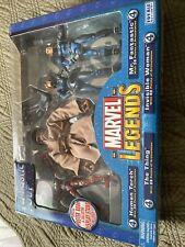 Marvel Legends Fantastic 4 Four Boxed Set Human Torch Invisible Woman Thing MISB