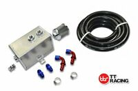 3L OIL CATCH CAN TANK BAFFLED HOLDEN COMMODORE W/ FITTING KIT AND FUEL HOSE