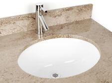 17 x 14in. Oval Ceramic Sink