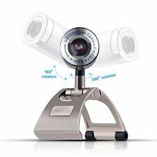 Laptop Web Camera Computer Video Call Webcam Desktop Stand Microphone