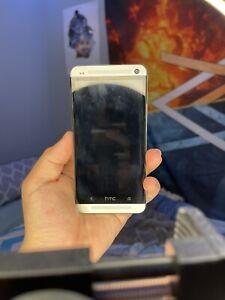 HTC One M7 32GB Silver (Sprint) Smartphone