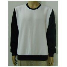 New Pack of 2 Mens Unisex Front Sublimation Baseball Style Sweatshirts XXL