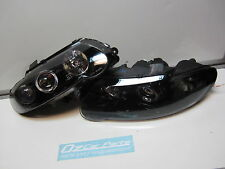 Holden Commodore VX VU SS Altezza ANGEL EYE Black Headlights LH & RH pair NEW