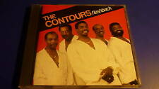 The Contours flashback Charly Records CD 1990 RARE! NUOVO