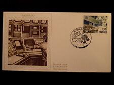 MONACO PREMIER JOUR FDC YVERT  1768     EUTELSAT       2,30F    1989