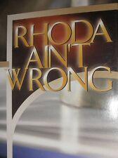 Rhoda Ain't Wrong - Classic Rare Teaching - TD Jakes - Single DVD