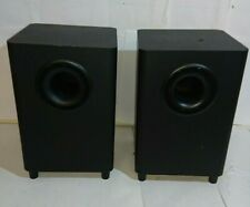 Subwoofer - Unbranded Pair - Black