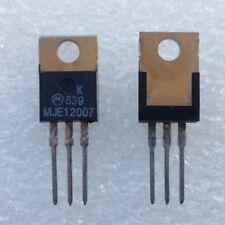 Motorola Mje12007 Npn Power Transistors (2 Pcs)