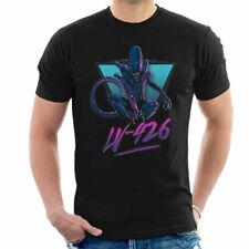 Alien Zenomorph 80s Neon Men's T-Shirt