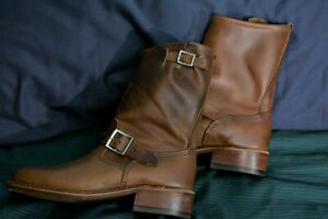 Mark Albert size 8.5 NaturalChromexcel Engineer Boots 1 of A Kind
