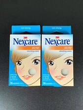 3M Nexcare Acne Absorbing Covers 72 Count, 2 Sizes NEW!