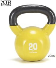 20KG Neoprene coated professional Cast Iron Kettlebell