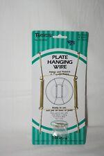 "Plate Hanger 8""-10"" 20-26 cm Brass #48-0030"