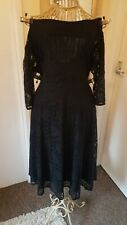 Ladies Off The Shoulder Lace Dress Size 18 By So Fabulous