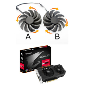 Fan For Gigabyte RX580 RX 580 Aorus Graphics Card Cooler GPU Fans PLD09210S12HH