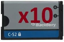 10 X C-S2 CS2 BATTERY for BlackBerry CURVE 3G 9300 9330 Curve 8520 8530