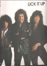 "KISS ""Lick It Up"" 180g Vinyl LP Back To Black sealed"