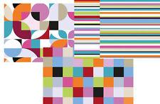 Placemat Retro / Placemat/Place Mats/Plastic Washable/ Various Designs