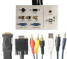 CABLE ASSEMBLY AV INC HDMI 5M Audio Visual Wall Plates and Floor Boxes