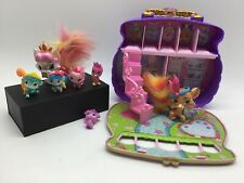 Disney Princess Palace Pets Carry & Play Pawfect Purse Case W/ Steps 7 Figures