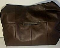 Hobo International Linwood Large Leather Bag Handbag Purse Walnut Brown NWT