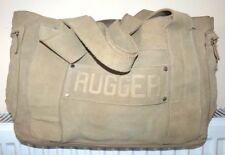 47c598c439 GANT RUGGER Large Shopper Traveller Tote Bag Real Suede Leather Beige