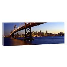 Panoramabild Leinwand Keilrahmen Bild Poster XXL 150 cm* 50 cm San Francisco 028