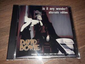David Bowie - IS IT ANY WONDER? - Alternate Edition - CD Album Brand New
