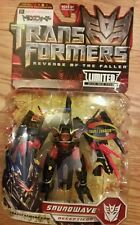 SUPER SALE! Transformers 2 rotf Chara hobby deluxe  soundwave mosc super rare