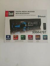 Dual XRM47BT Single-Din In-Dash Mechless AM/FM Receiver +Bluetooth +Aux/Usb
