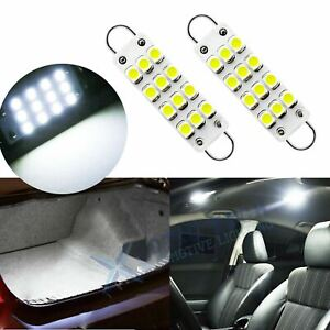 LED 562 561 564 44mm Interior Courtesy Door Dome Map Luggage Trunk Light Bulbs