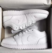 Nike Jordan 1 Low GS Triple White Brand New in Box UK 4