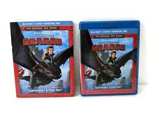 How to Train Your Dragon (Blu-ray + DVD, 2014) with Slipcover - No Digital