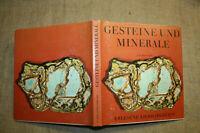 Sammlerbuch Minerale, Mineralogie, Gesteinskunde, Geologie, Gesteine 1969