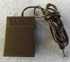 Yamaha FC5 Metal Single Momentary Sustain On/Off Footswitch Pedal Switch