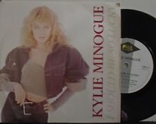 """KYLIE MINOGUE ~ I Should Be So Lucky ~ 7"""" Single PS"""
