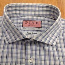 Thomas Pink Long Regular Formal Shirts for Men